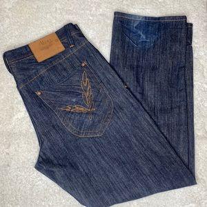 Akoo dark wash jeans